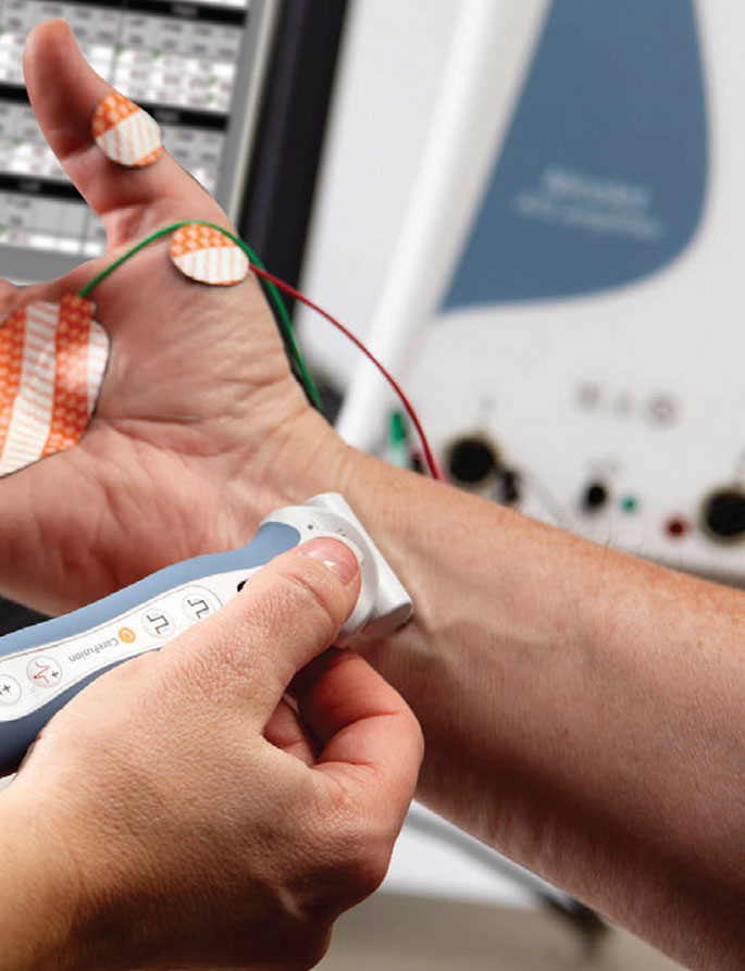 Electrodiagnostic Testing through Electromyography