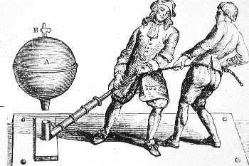 Otto von Guericke the piston vacuum pump