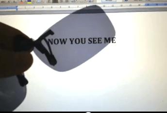 Computer Screen Polarisation