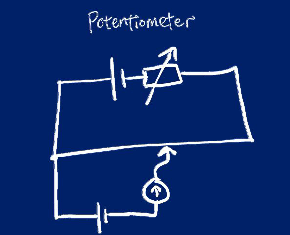 Using a Potentiometer to Measure Small Potential Difference