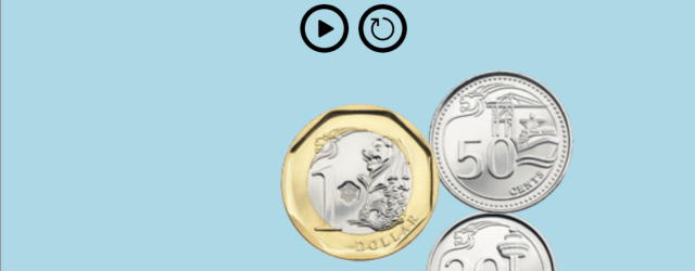 game to learn how to count coins
