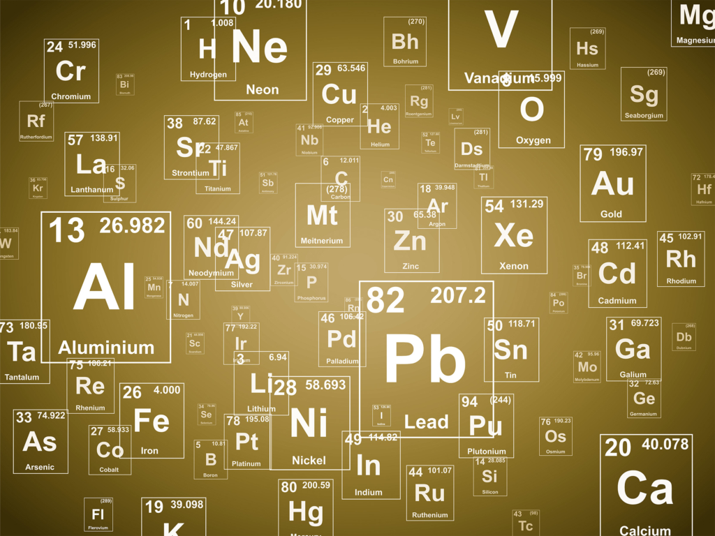 Xe Periodic Table Protons