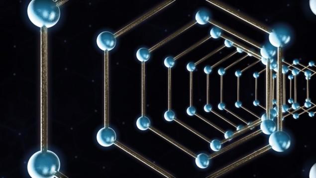 Illustration of carbon nanotubes