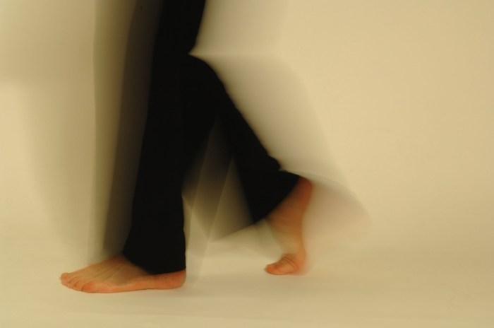 Fußbewegungen von Ursula Obermaier