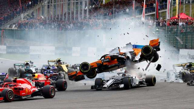 F1: Mechanical Issues…? Injuries in Formula Racing