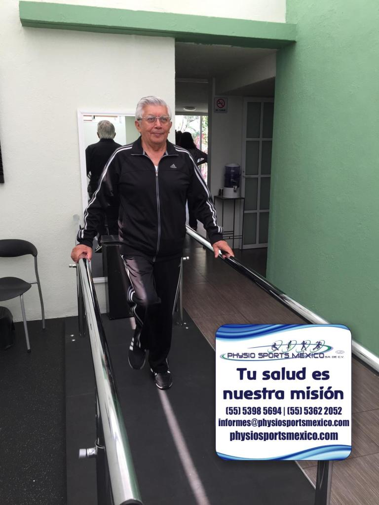 Rehabilitación de fractura de cadera en Physio Sports México
