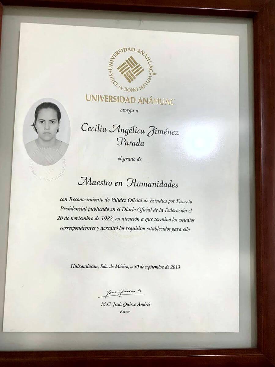 Maestría en Humanidades, Universidad Anáhuac