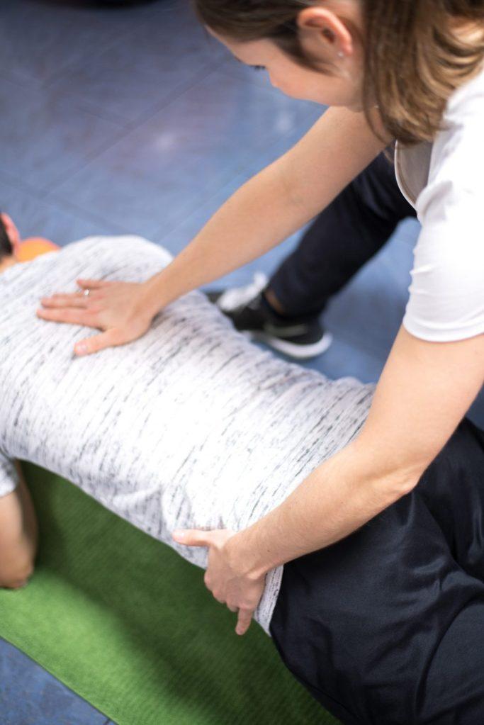 Krankengymnastik (KG) Physiotherapie zur Rumpfstabilisation in Emsdetten in der Praxis Physiotherapie Mundus.