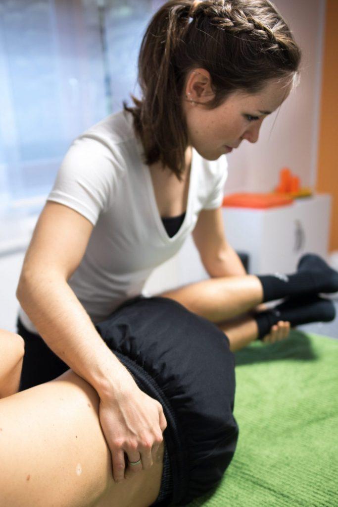 Manuelle Therapie (MT) an der Wirbelsäule in Emsdetten in der Praxis Physiotherapie Mundus.