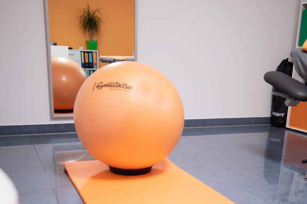 Trainingsfläche für Krankengymnastik und Physiotherapie in Emsdetten.