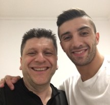 Alfredo Dente and Andrea Iannone selfie