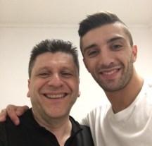 Alfredo Dente and Andrea Iannone selfie