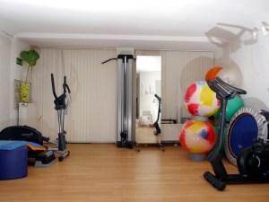 Gymnastiksaal bei Physiowell Bielefeld
