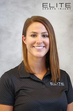 Brianna Buchanan at Elite Sports Injury Physiotherapy, Massage Therapy Winnipeg