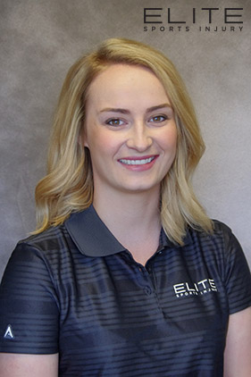 Cara Goleski at Elite Sports Injury Physiotherapy, Massage Therapy Winnipeg