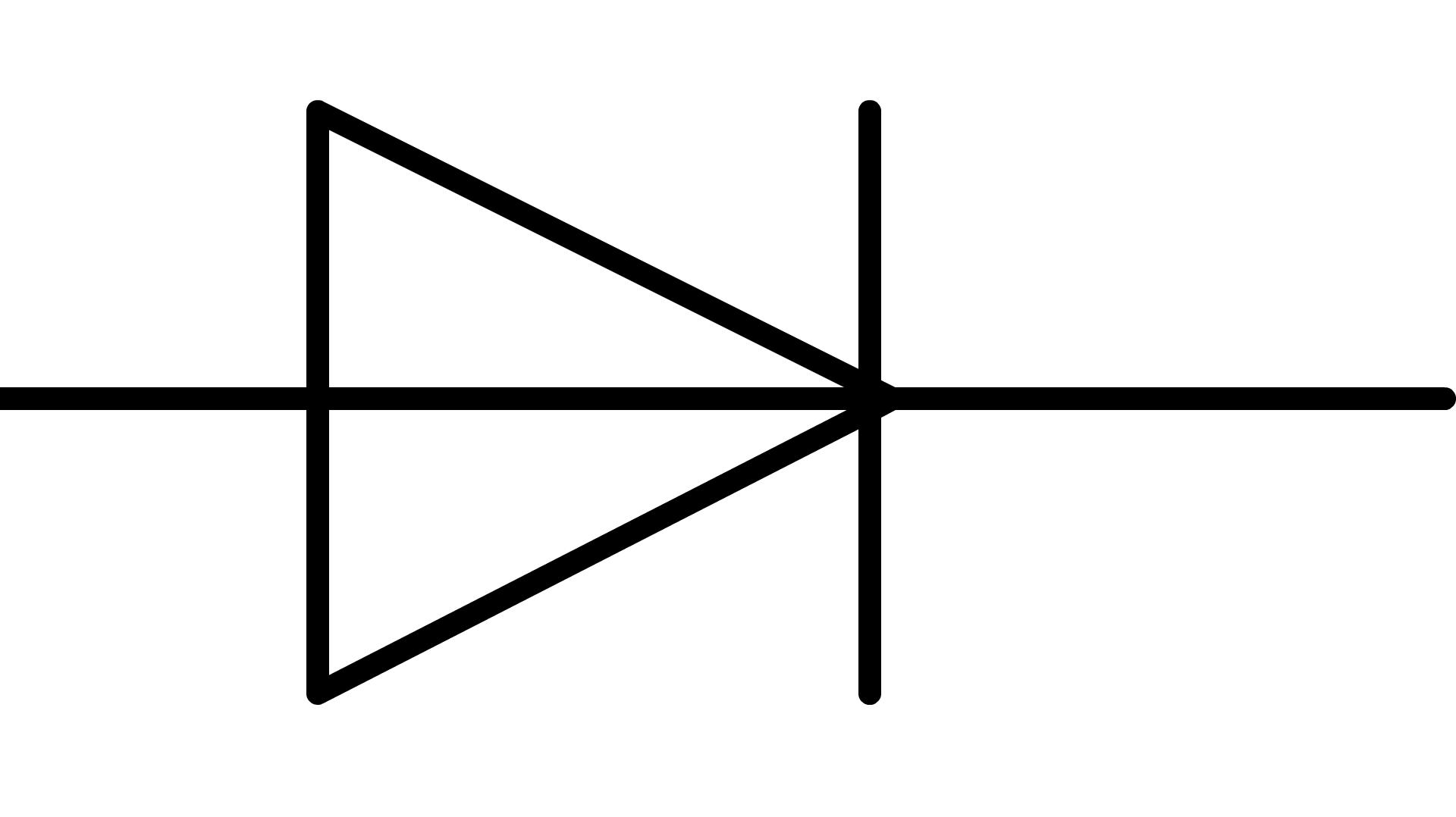 Symbole Normalise D Une Diode