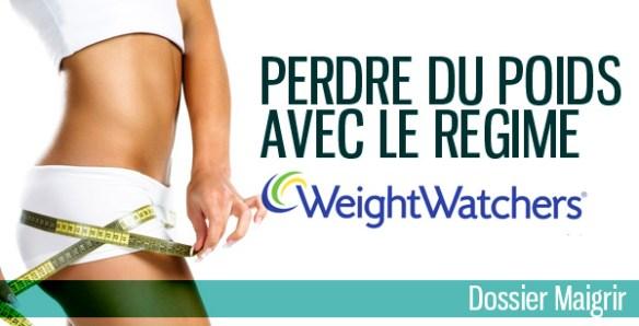 weightwatcher comment perdre du poids régime
