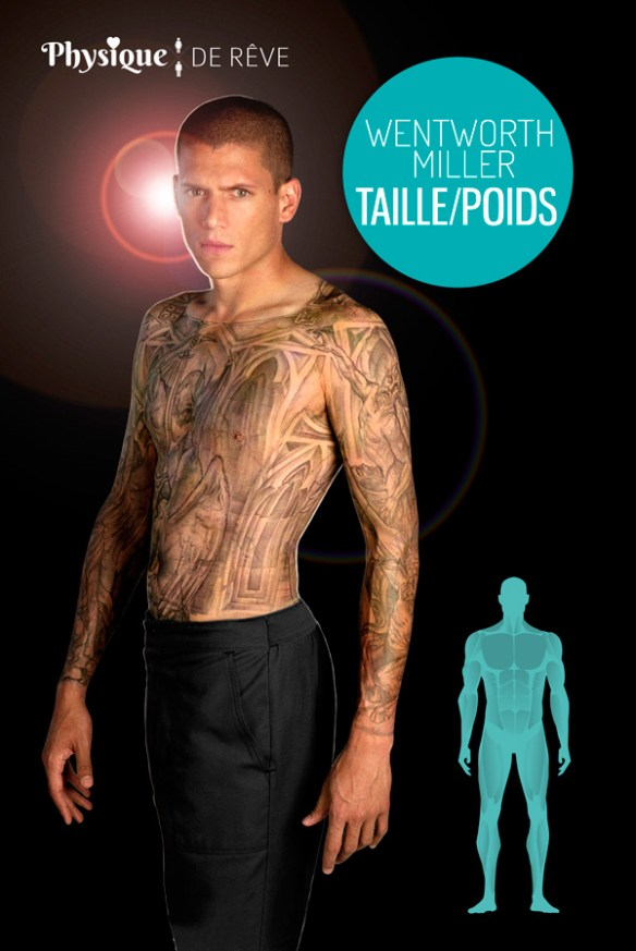 Wentworth-Miller-taille-poids