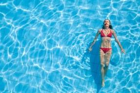 Wasser ist gesund von innen und außen