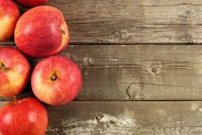 Äpfel sind gut für die Verdauung