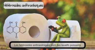 Hétérosides anthracéniques