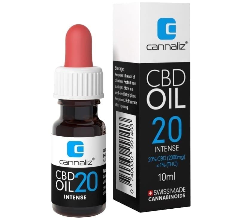 Cannaliz CBD Oil : 20% CBD