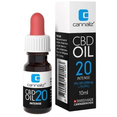 Cannaliz CBD Oil : 20% CBD