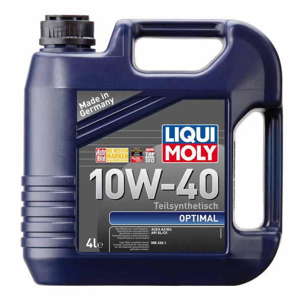 LIQUI MOLY Optimal 10W-40 (4л) - моторное масло для России
