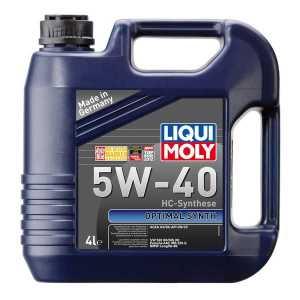 LIQUI MOLY Optimal Synth 5W-40 (4л) -спецмасло для России