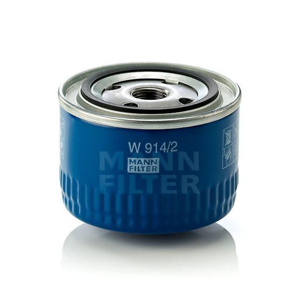 W 914/2 фильтр масляный