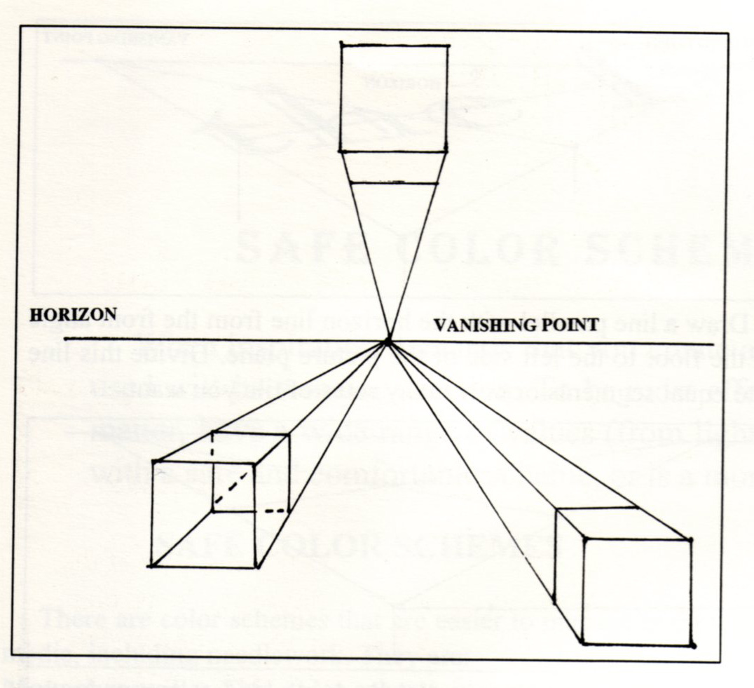 Linear Perspective Worksheet