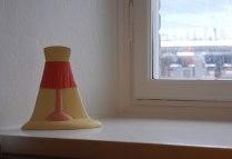 Pia König-Lampa som lyser-Posthotellet Göteborg