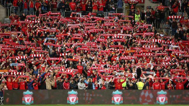 Liverpool ingin para penggemarnya memberikan dukungan penuh terhadap ajang Liga Champions