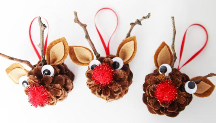 Lavoretti Di Natale Con Le Pigne Ecco 18 Simpatiche Idee