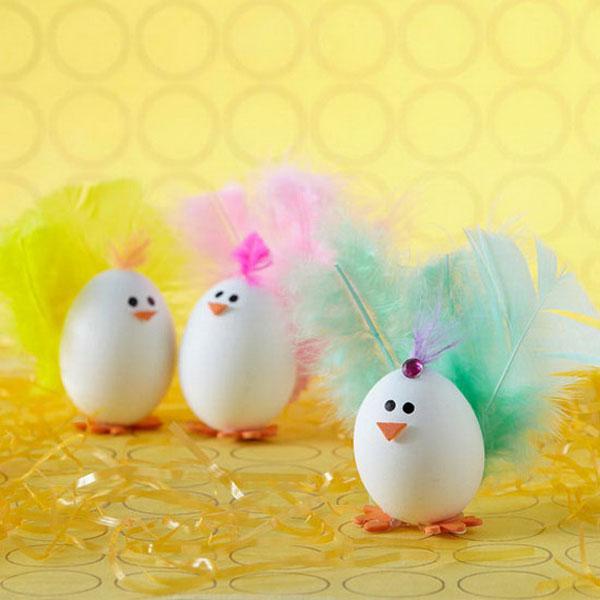 Uova Di Pasqua Decorate 70 Idee Originali Fai Da Te