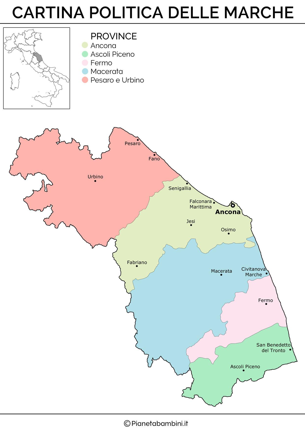 Cartina Muta Fisica E Politica Del Piemonte Da Stampare Modern