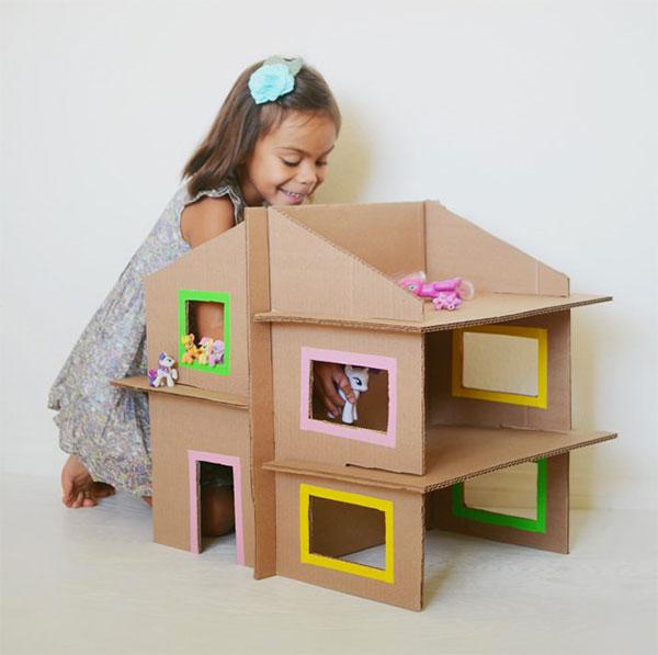 30 Idee Per Lavoretti Con Scatole Di Cartone Per Bambini