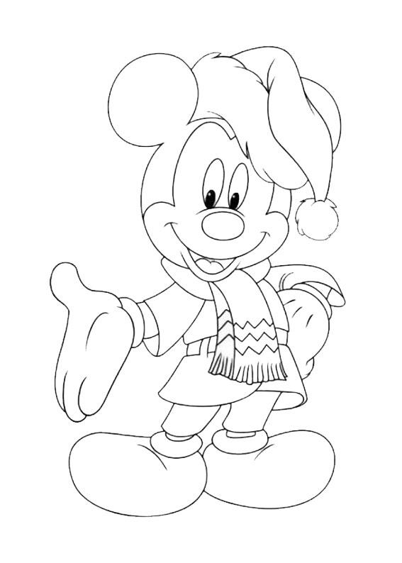 50 Disegni Di Natale Della Disney Da Colorare