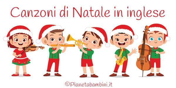 Anche tu, d'altronde, sarai cresciuto al ritmo di quelle canzoni natalizie amate da tutti i bambini, come la. 20 Canzoni Di Natale In Inglese Per Bambini Pianetabambini It