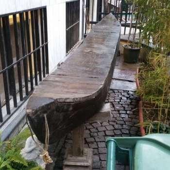 consolle cassapanca da canoa