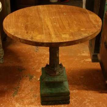 Tavolo rotondo in teak