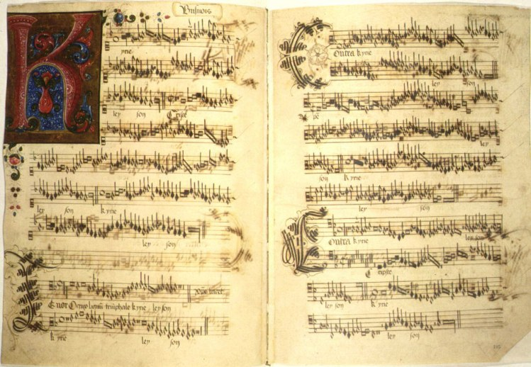medieval music time period