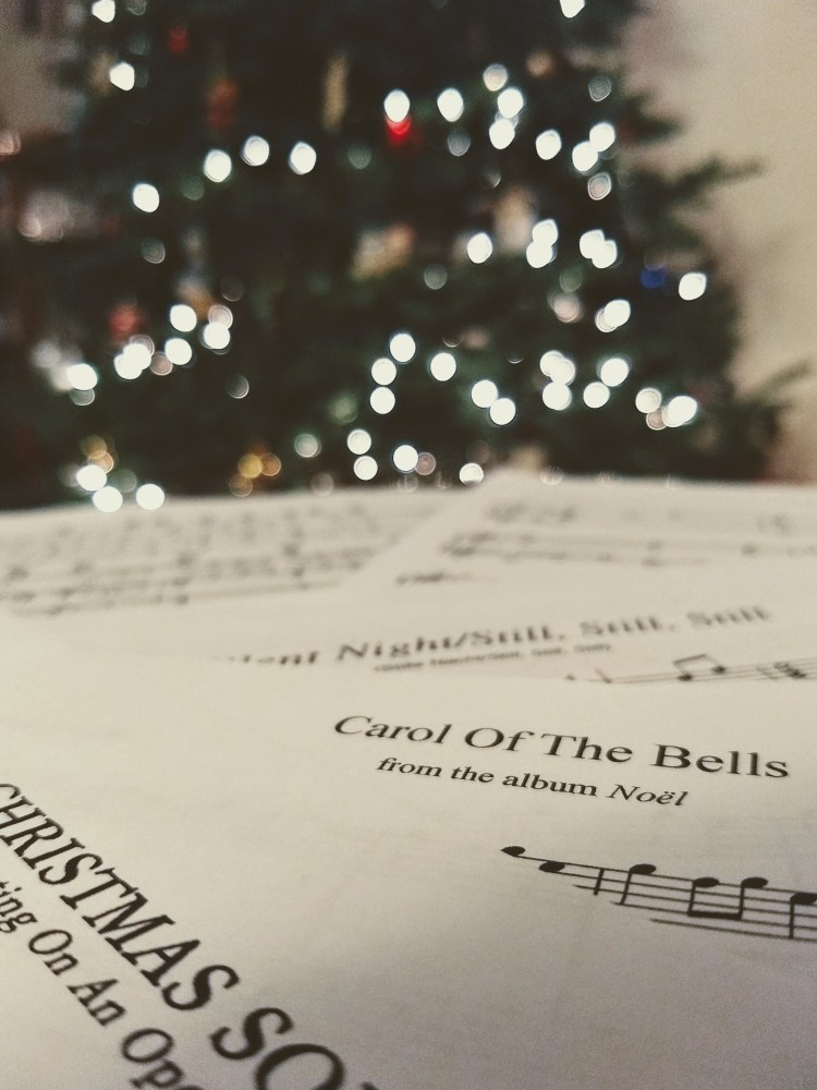 merry christmas piano sheet music