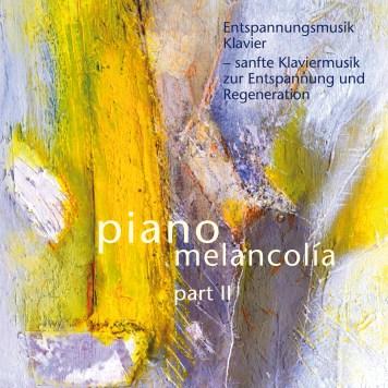 """Deutsche Ausgabe von """"piano melancolía - part II"""" - erhältlich auch in der Schweiz und Österreich"""