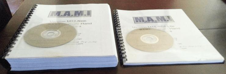 MAMI Books Side by Side Comparison - Complete vs Lite