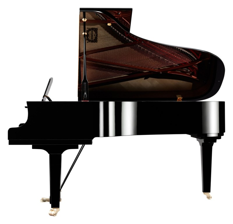 The Yamaha C6X Concert Grand - Side View