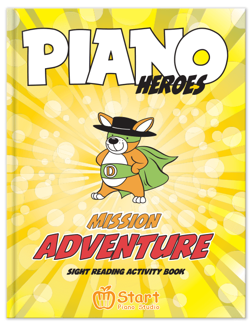 Mission Adventure: Sight Reading Activity Book