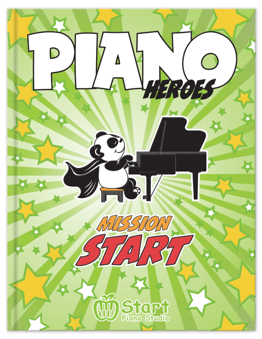 Piano Heroes: Mission Start - contemporary piano method for young students