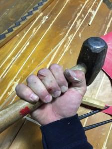 Steinway B Piano restoration