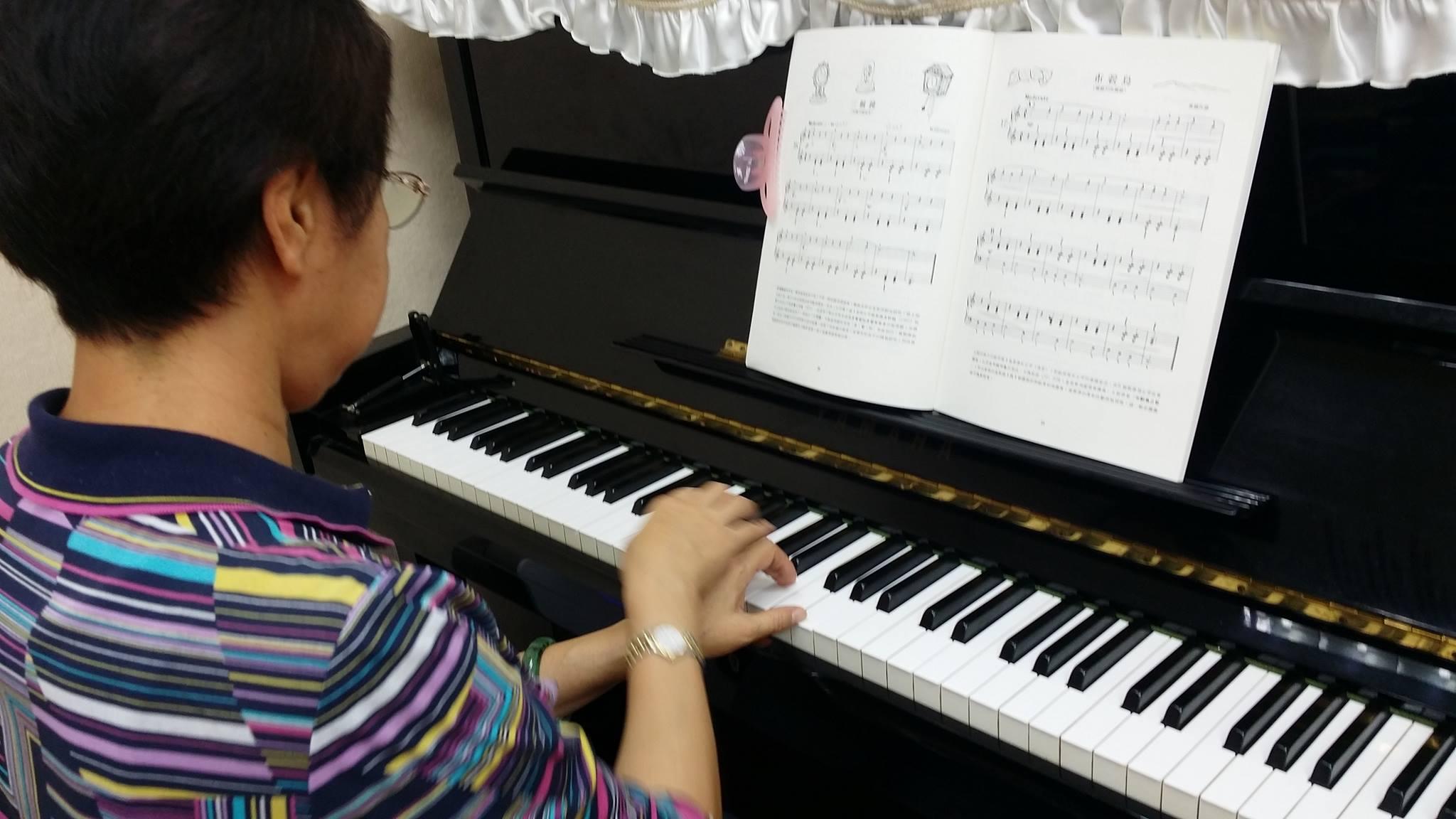 臺北流行鋼琴教學 電子琴教學 上課照片分享 – 丁丁鋼琴電子琴課程分享 Piano Music Taiwan